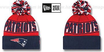 Patriots 'REP-UR-TEAM' Knit Beanie Hat by New Era