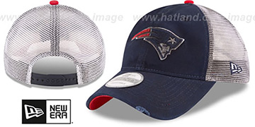 Patriots 'RUSTIC TRUCKER SNAPBACK' Hat by New Era