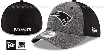 Patriots 'SHADOWED FLEX' Grey-Black Hat by New Era