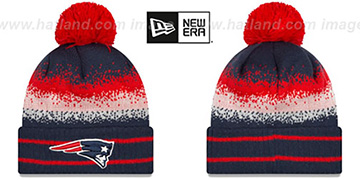 Patriots SPEC-BLEND Knit Beanie Hat by New Era