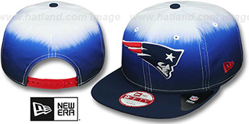 Patriots SUBLENDER SNAPBACK Navy-White Hat by New Era