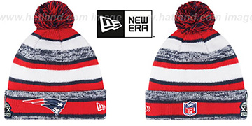 Patriots 'SUPER BOWL XLIX CHAMPS STADIUM' Knit Beanie Hat by New Era