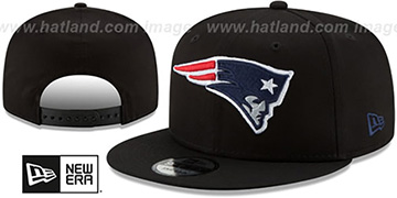 Patriots TEAM-BASIC SNAPBACK Black Hat by New Era