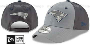 Patriots THE-LEAGUE GREY-POP STRAPBACK Hat by New Era