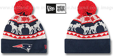 Patriots 'THE-MOOSER' Knit Beanie Hat by New Era