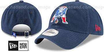Patriots 'THROWBACK CORE-CLASSIC STRAPBACK' Navy Hat by New Era