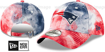 Patriots TIE-DYE STRAPBACK Hat by New Era