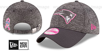 Patriots 'WOMENS 2016 BCA STRAPBACK' Grey-Grey Hat by New Era