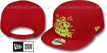 Peanuts PENNANT VICTOR SNAPBACK Red Hat by New Era
