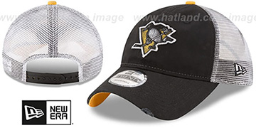 Penguins 'RUSTIC TRUCKER SNAPBACK' Hat by New Era