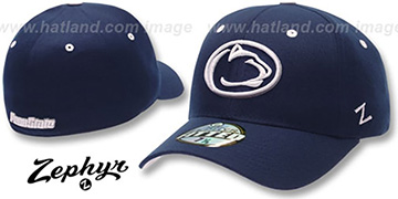 Penn State DHS-2 Fitted Hat by ZEPHYR - navy