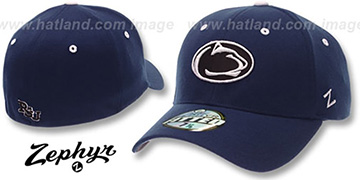 Penn State 'DHS' Fitted Hat by ZEPHYR - navy