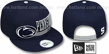Penn State 'RETRO-SNAPBACK' Navy Hat by New Era
