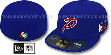 Philippines 'PERFORMANCE WBC' Royal Hat by New Era