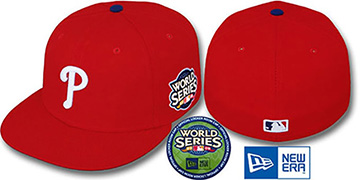 Phillies 2009 'WORLD SERIES GAME' Hat by New Era