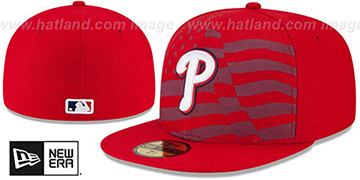 Phillies 2015 JULY 4TH STARS N STRIPES Hat by New Era