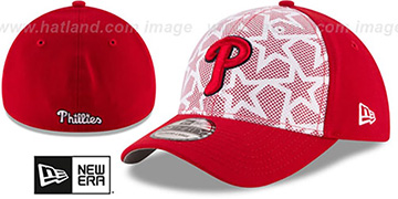 Phillies 2016 JULY 4TH STARS N STRIPES FLEX Hat by New Era