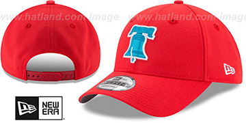 Phillies '2017 LITTLE-LEAGUE 940 SNAPBACK' Red Hat by New Era