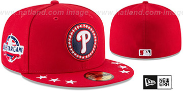 Phillies '2018 MLB ALL-STAR WORKOUT' Fitted Hat by New Era