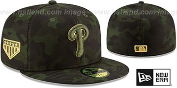 Phillies 2019 ARMED FORCES 'STARS N STRIPES' Hat by New Era