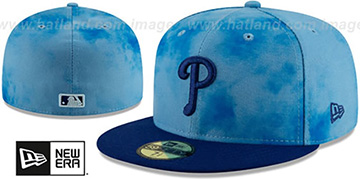 Phillies 2019 FATHERS DAY Fitted Hat by New Era