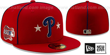 Phillies 2019 MLB ALL-STAR GAME Fitted Hat by New Era