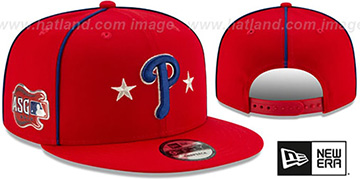 Phillies 2019 MLB ALL-STAR GAME SNAPBACK Hat by New Era