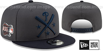 Phillies 2019 MLB ALL-STAR WORKOUT SNAPBACK Hat by New Era