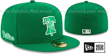 Phillies 2020 ST PATRICKS DAY Fitted Hat by New Era