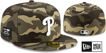 Phillies 2021 ARMED FORCES STARS N STRIPES Hat by New Era