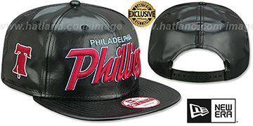 Phillies COOPERSTOWN REDUX SNAPBACK Black Hat by New Era