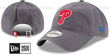 Phillies 'CORE-CLASSIC STRAPBACK' Grey Hat by New Era