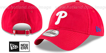 Phillies 'CORE-CLASSIC STRAPBACK' Red Hat by New Era