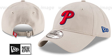 Phillies 'CORE-CLASSIC STRAPBACK' Stone Hat by New Era