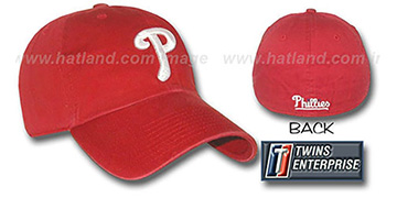 Phillies FRANCHISE Hat by Twins - red