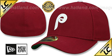 Phillies LOW-CROWN 1981 COOPERSTOWN Fitted Hat by New Era