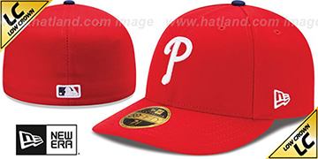 Phillies '2017 LOW-CROWN ONFIELD GAME' Fitted Hat by New Era