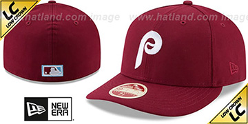 Phillies 1971-91 LOW-CROWN VINTAGE Fitted Hat by New Era
