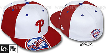 Phillies 'ORLANTIC' White-Red Fitted Hat by New Era