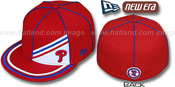 Phillies PROREV Fitted Hat by New Era