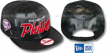 Phillies REDUX SNAPBACK Black Hat by New Era