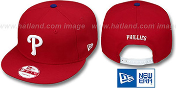Phillies 'REPLICA GAME SNAPBACK' Hat by New Era