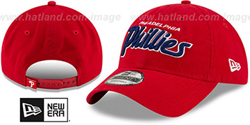 Phillies RETRO-SCRIPT SNAPBACK Red Hat by New Era