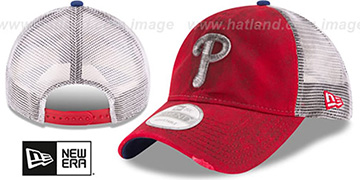 Phillies 'RUSTIC TRUCKER SNAPBACK' Hat by New Era