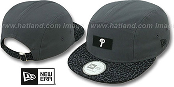 Phillies 'SAFARI CAMPER STRAPBACK' Grey Hat by New Era