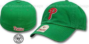 Phillies 'ST PATS FRANCHISE' Green Hat by Twins 47 Brand