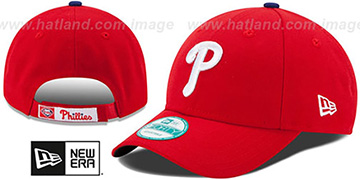 Phillies THE-LEAGUE GAME STRAPBACK Red Hat by New Era
