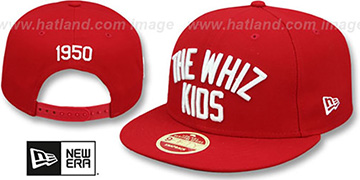 Phillies 'WHIZ KIDS CALLOUT SNAPBACK' Hat by New Era