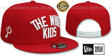 Phillies WHIZ KIDS SNAPBACK Red Hat by New Era