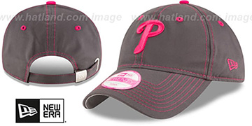 Phillies 'WOMENS MOTHERS DAY STRAPBACK' Grey Hat by New Era
